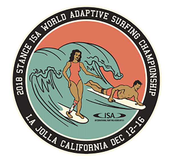 Stance ISA World Adpative Surfing Championship Logo