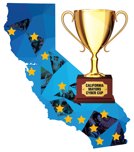 CA Mayors Cyber Cup Competition Logo